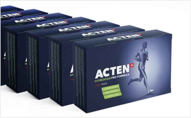 Acten Product Packaging